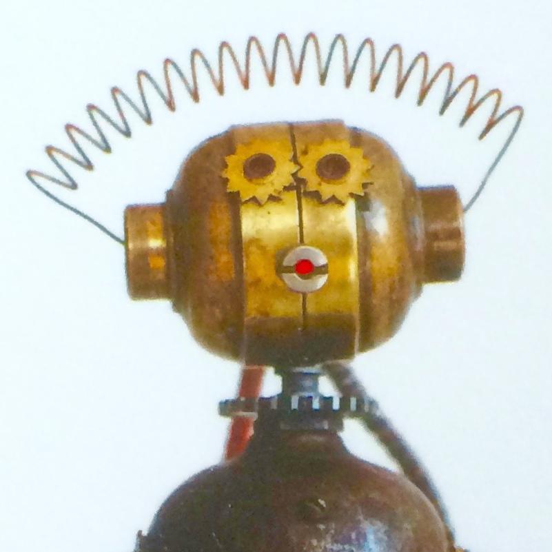 Électrorobo, par Benoît Lortie (utilisé avec permission)